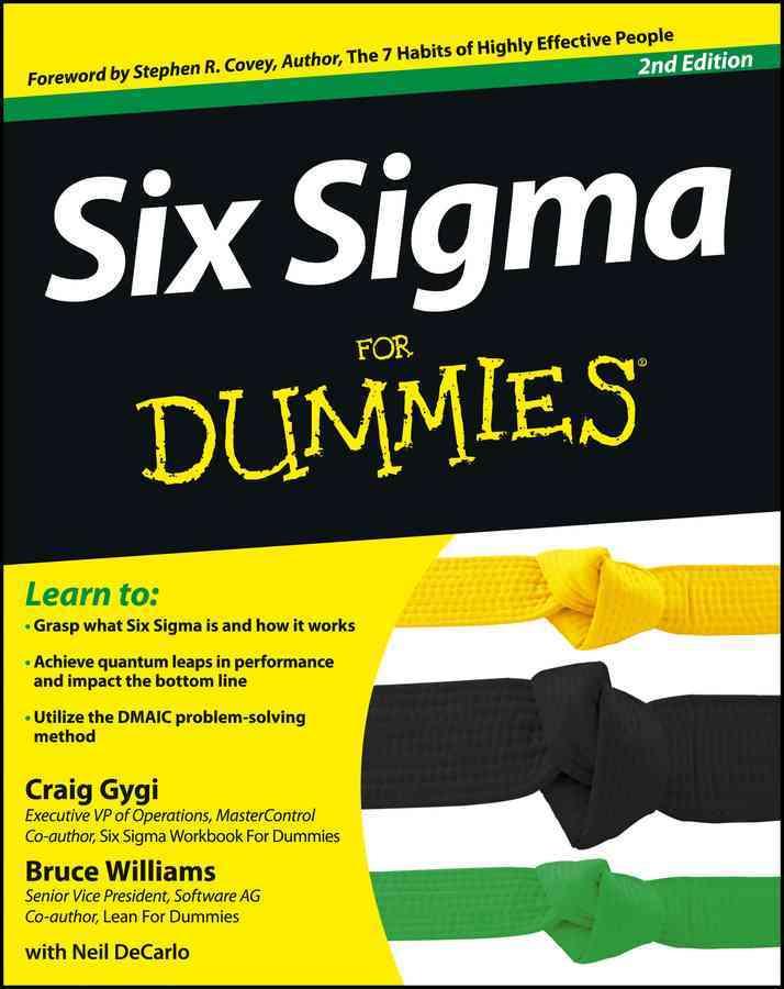 Six Sigma for Dummies By Gygi, Craig/ Williams, Bruce