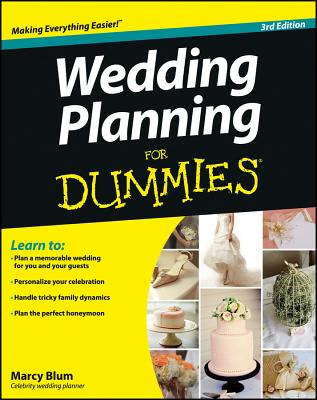 Wedding Planning for Dummies By Blum, Marcy